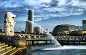 wisata-singapura-merlion-park