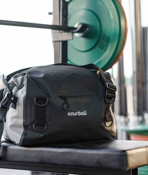 Z DUFFEL BAG BLACK GREY